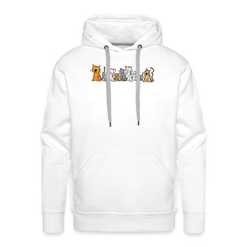 Cats & Cats - Mannen Premium hoodie