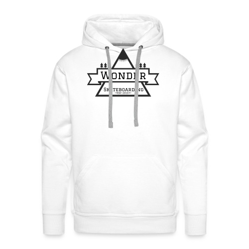 Wonder T-shirt: mountain logo - Herre Premium hættetrøje