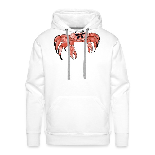 Joe the tattooed crab - Men's Premium Hoodie
