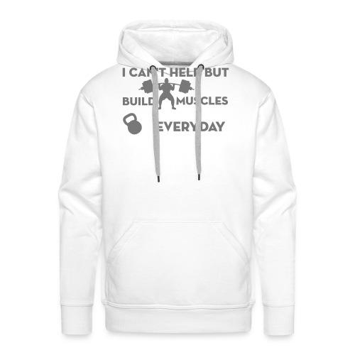 puissance-lift-weight - Sweat-shirt à capuche Premium pour hommes