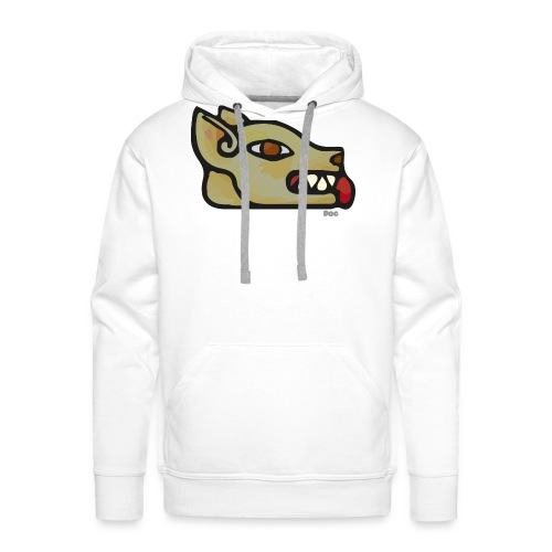 Aztec Icon Dog - Men's Premium Hoodie