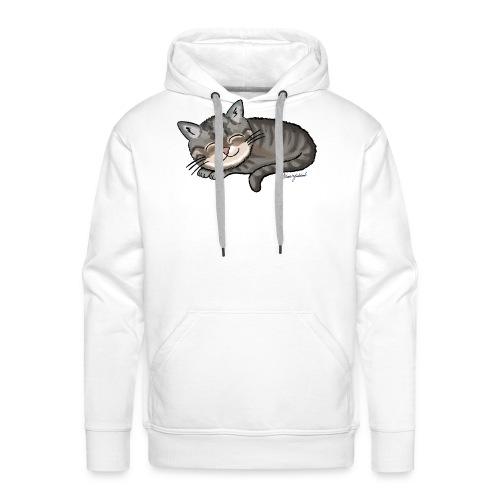 Kätzchen Lissy (sleep) - Männer Premium Hoodie