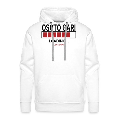 O Soto Gari Loading.... Pleas Wait - Bluza męska Premium z kapturem
