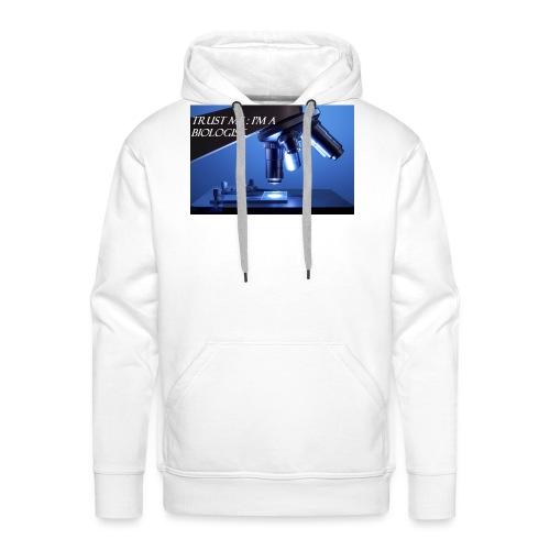 biologist - Sweat-shirt à capuche Premium pour hommes