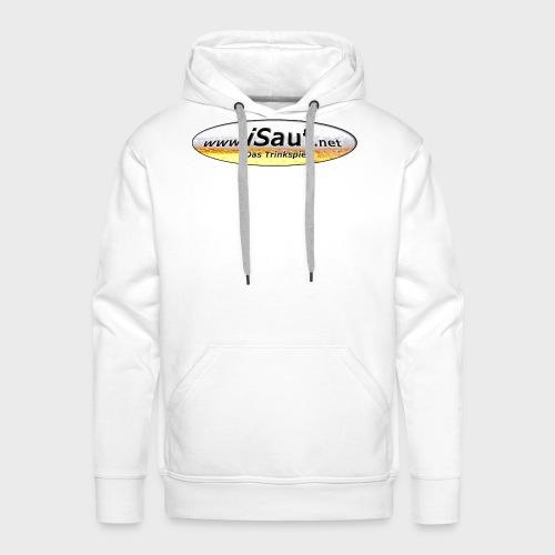 iSauf Logo - Männer Premium Hoodie