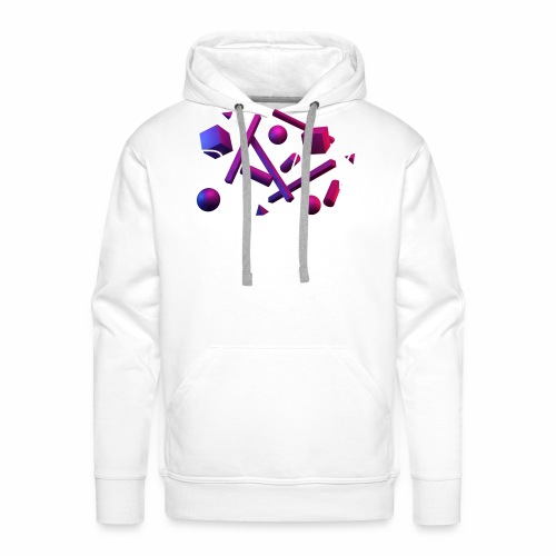 Play - geometric shapes - Männer Premium Hoodie