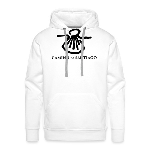 Camino de Santiago - Herre Premium hættetrøje