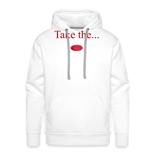 Take The Red Pill - Men's Premium Hoodie