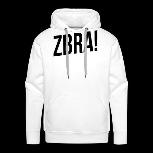 ZBRA! - Sweat-shirt à capuche Premium pour hommes