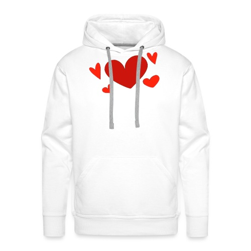 Five hearts - Men's Premium Hoodie