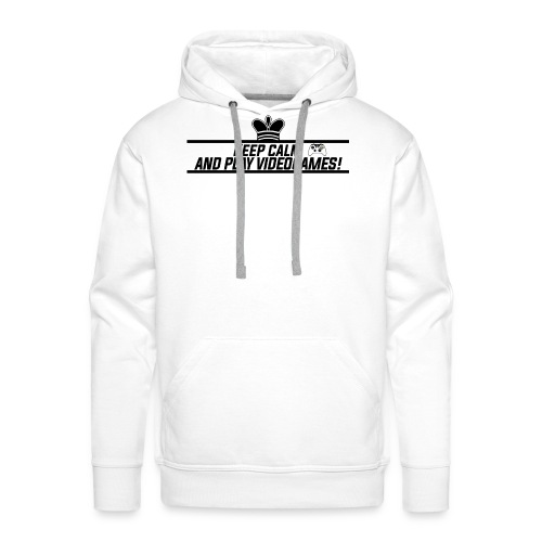 Keep calm and play videogames - Men's Premium Hoodie