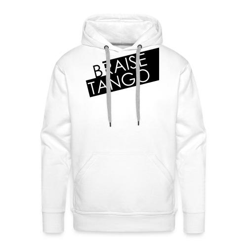 Logo Braise Tango - Sweat-shirt à capuche Premium pour hommes