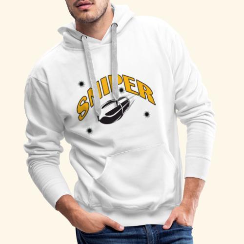 sniper - Mannen Premium hoodie