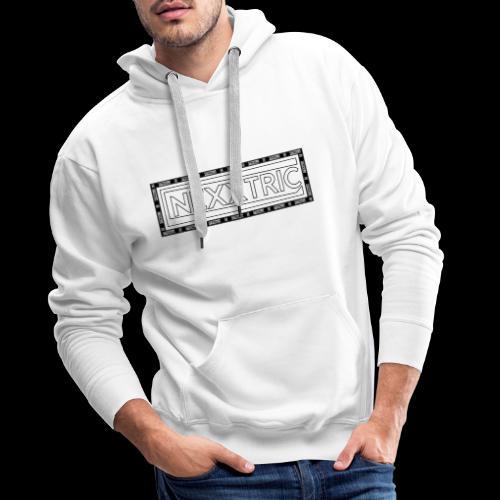 chemise nexxtric - Sweat-shirt à capuche Premium pour hommes