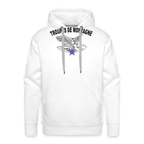 choucasTDM dos - Sweat-shirt à capuche Premium pour hommes