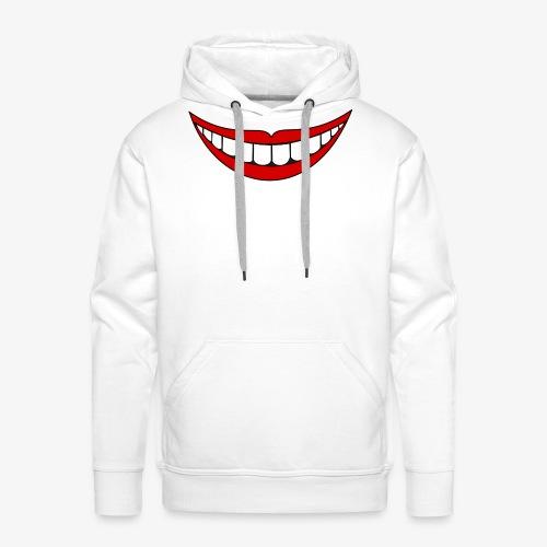 Big Smile Schutzmaske - Männer Premium Hoodie
