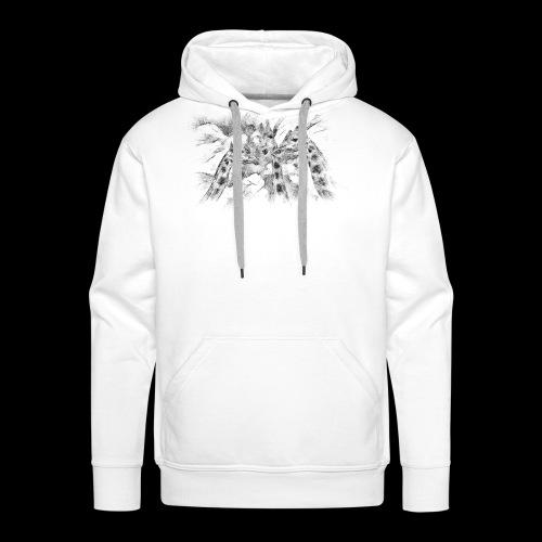 les girafes bavardes - Sweat-shirt à capuche Premium pour hommes