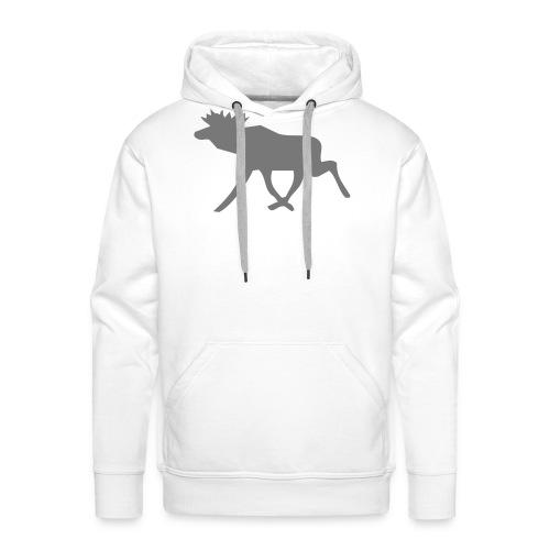 Schwedenelch; schwedisches Elch-Symbol (vektor) - Männer Premium Hoodie