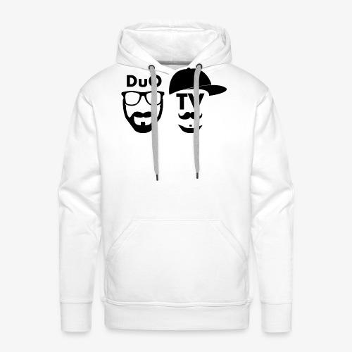 DuO TV Memes (black) - Männer Premium Hoodie