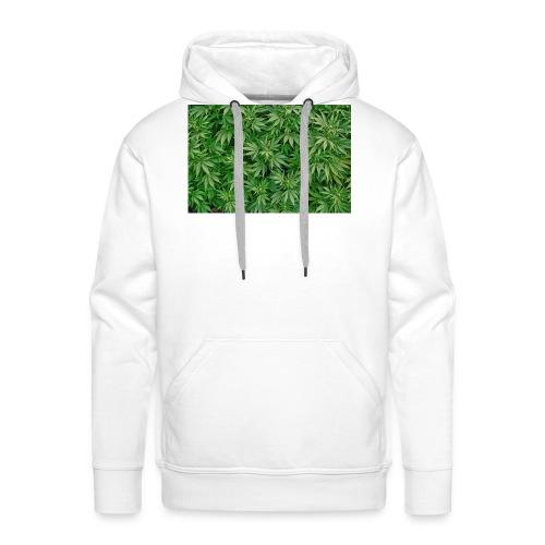 cannabis jpg - Männer Premium Hoodie