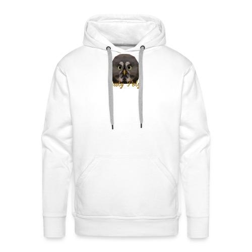 Owly Poly - Sweat-shirt à capuche Premium pour hommes