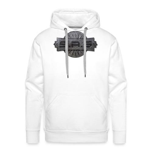 metal background scratches surface 18408 3840x2400 - Mannen Premium hoodie