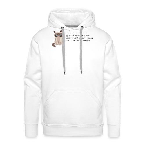 99 litle bugs of code - Mannen Premium hoodie