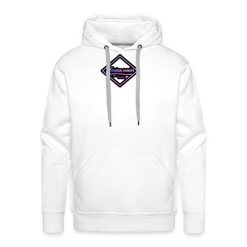 jordan sennior logo - Men's Premium Hoodie