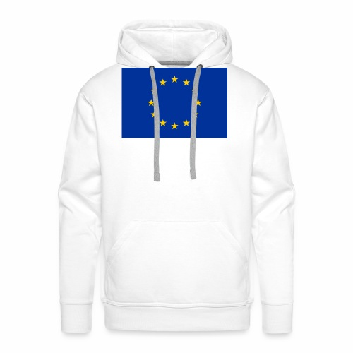 European Union Flag - Straight - Men's Premium Hoodie