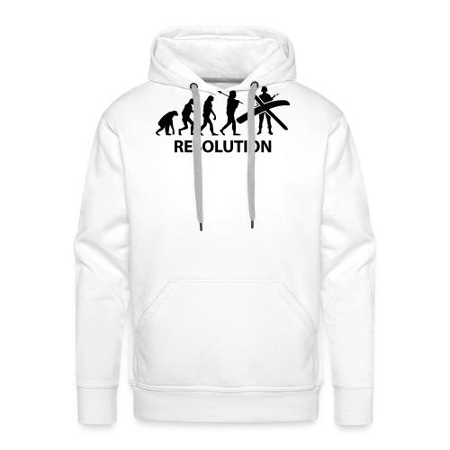 Resolution Evolution Army - Men's Premium Hoodie