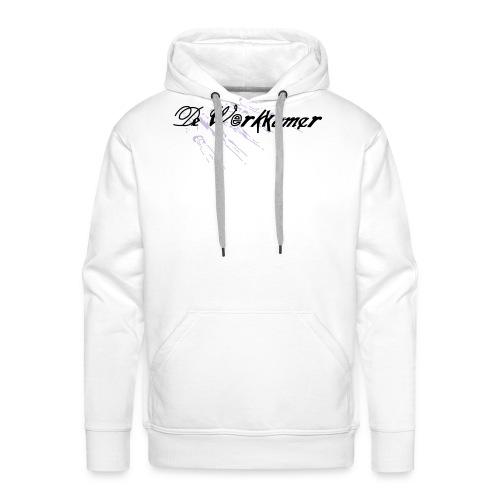 werkkamer edit - Mannen Premium hoodie