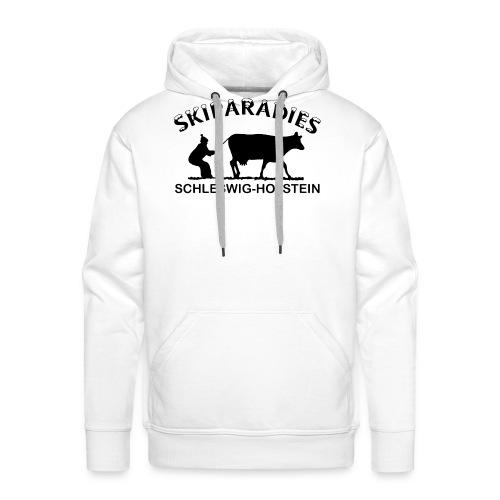 Skiparadies Schleswig-Holstein - Männer Premium Hoodie