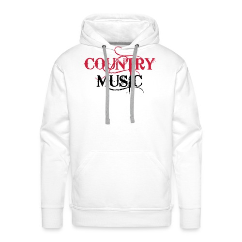 Country Music - Sweat-shirt à capuche Premium pour hommes