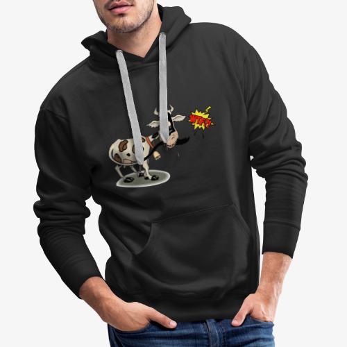 Vaquita - Sudadera con capucha premium para hombre
