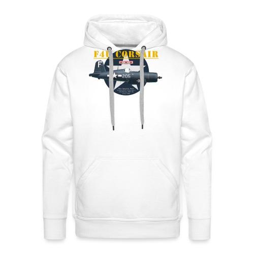 F4U Jeter VBF-83 - Sweat-shirt à capuche Premium pour hommes