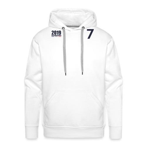 France 2019 - Sweat-shirt à capuche Premium pour hommes