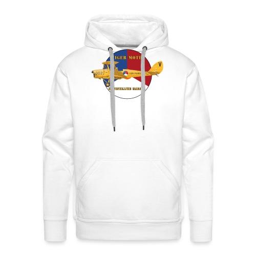 Tiger Moth Kon Marine - Sweat-shirt à capuche Premium pour hommes