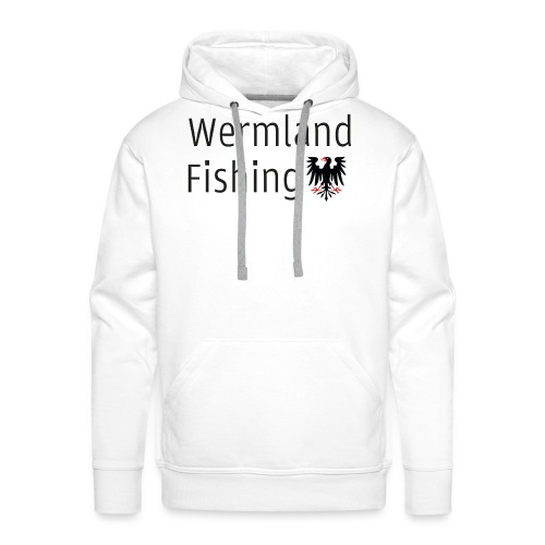 Wermland Fishing - (Black edition) - Premiumluvtröja herr