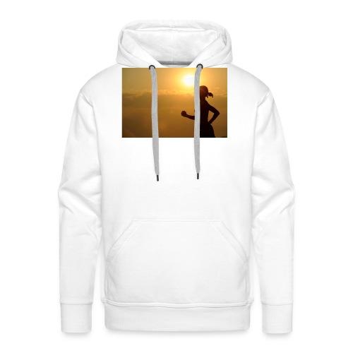 Sunset run - Männer Premium Hoodie