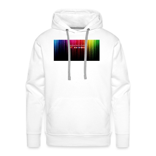 # review tech channel - Mannen Premium hoodie