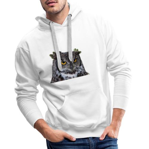 I was Born like this Eule - Männer Premium Hoodie