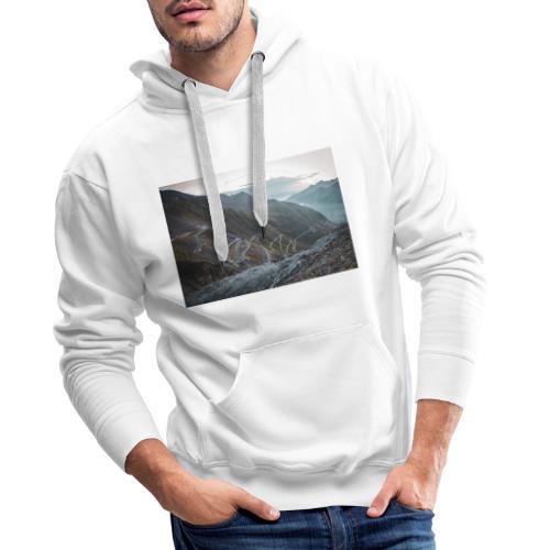 Stelvio 2757m - Männer Premium Hoodie