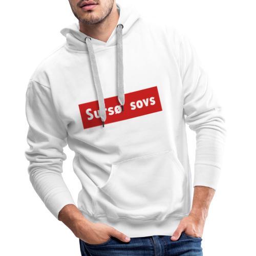 Sursø' Sovs - Herre Premium hættetrøje
