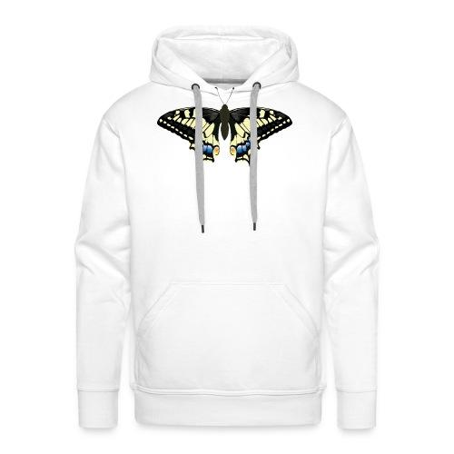 schwalbenschwanz Schmetterling - Männer Premium Hoodie