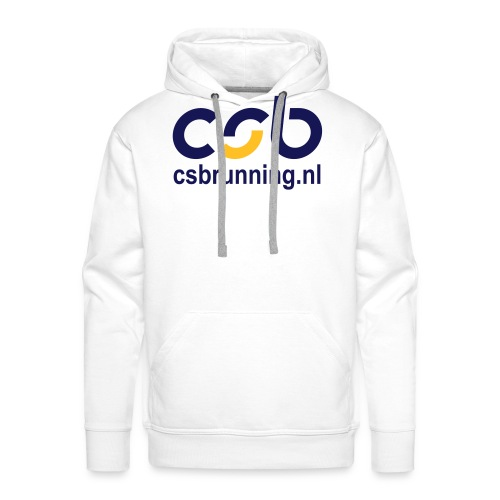 logo csb nieuw 2017 csbrunning - Mannen Premium hoodie
