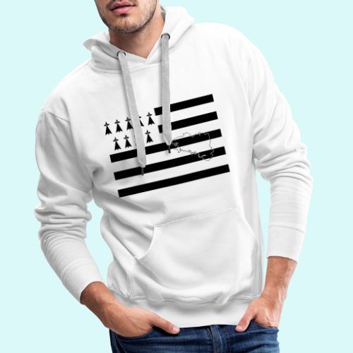 GWEN A DU - Sweat-shirt à capuche Premium pour hommes
