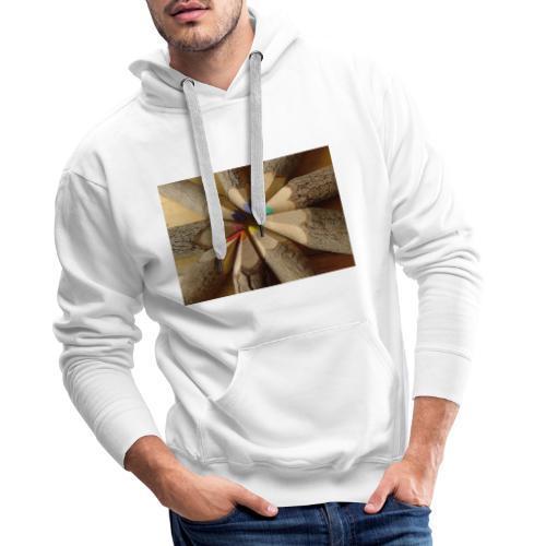 flo - Sudadera con capucha premium para hombre