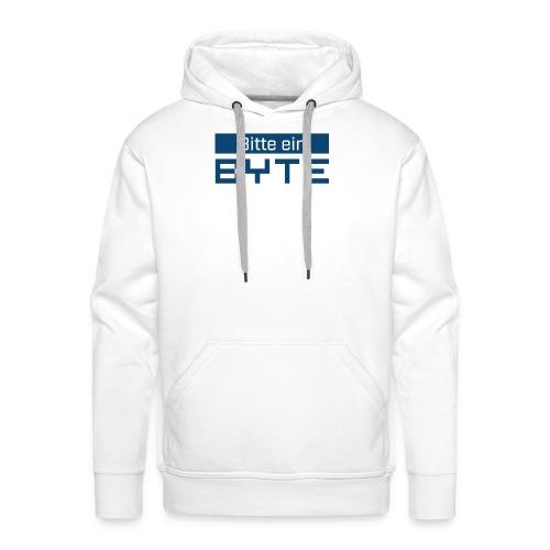 Bitte ein BYTE - Männer Premium Hoodie
