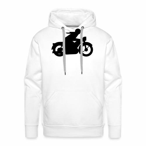 AWO driver silhouette - Men's Premium Hoodie