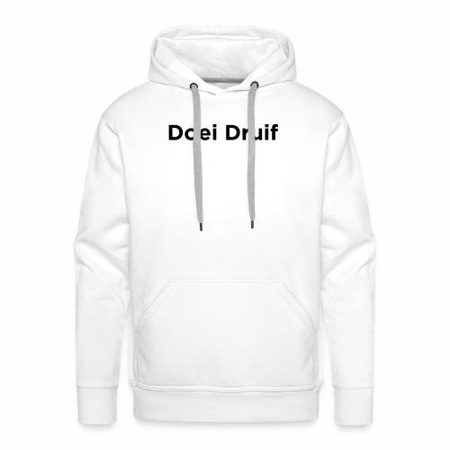 Doei Druif - Mannen Premium hoodie